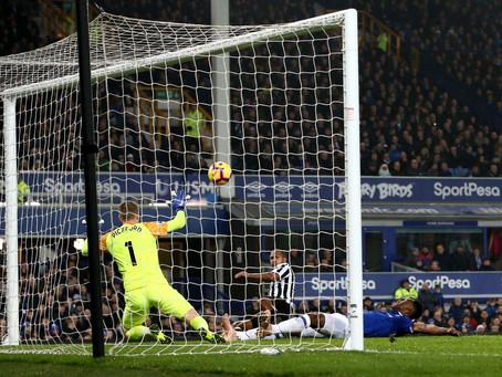 Head to Head records: Home v Everton