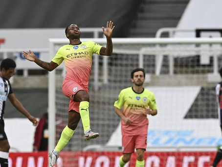 Newcastle United 0-2 Man City: Stat Review