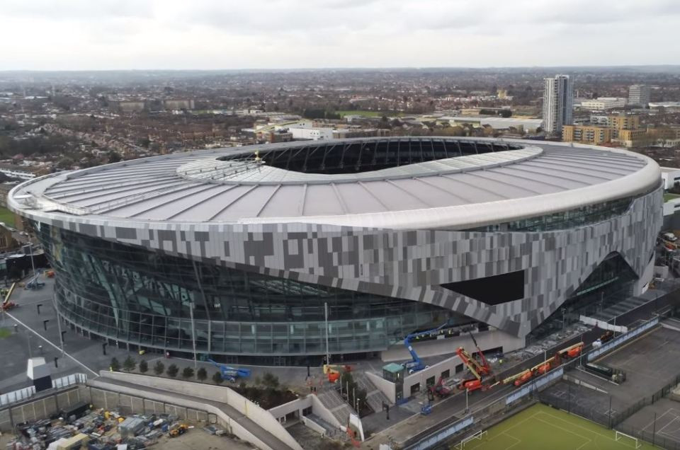 This will be Newcastle's first time to Tottenham's new stadium. Picture courtesy of TalkSport.