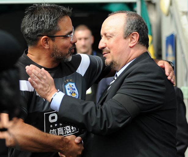 Wagner and Benitez were promoted to the Premier League together in 2017. Picture courtesy of The Chronicle.