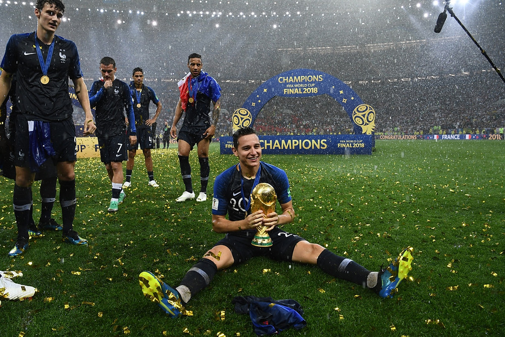 Thauvin was part of the France World Cup squad in the summer. Picture courtesy of SoccerRich.