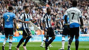 Five goals against title challenging Tottenham was a special achievement despite relegation. Picture courtesy of Sky Sports.
