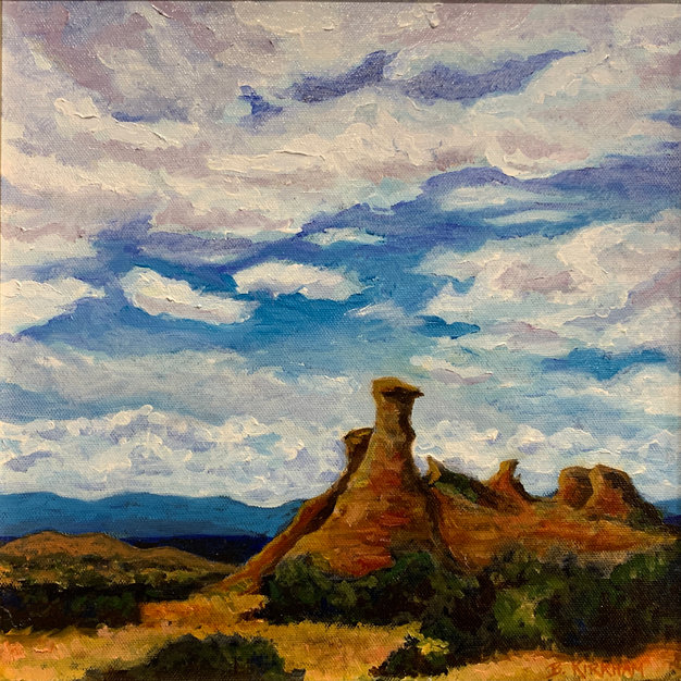 Rock Formations - High Road to Taos