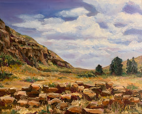 Frijoles Canyon - Bandelier N.M.