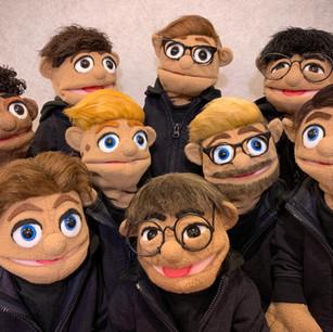 Toronto Defiant Portrait Puppets