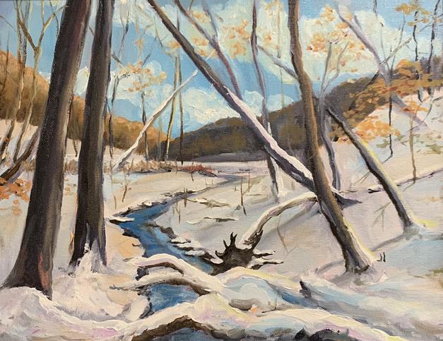 Snowy Creek - Strahl Lake