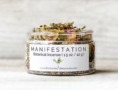 Enchanted Botanicals Manifestation Incense