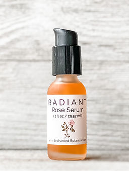 Enchanted Botanicals Radiant Rose Skin Serum