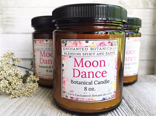 MOON DANCE Botanical Candle