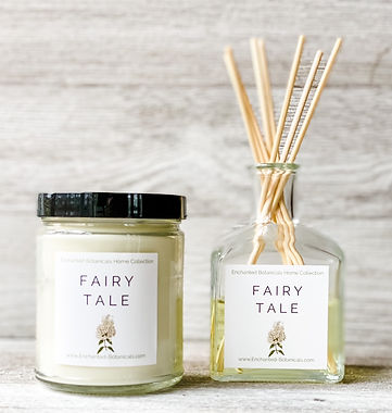 Enchanted Botanicals Home Collection Scented Candles & Reed Diffusers