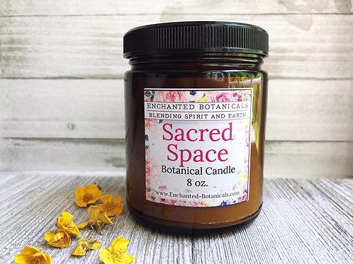 SACRED SPACE Botanical Candle