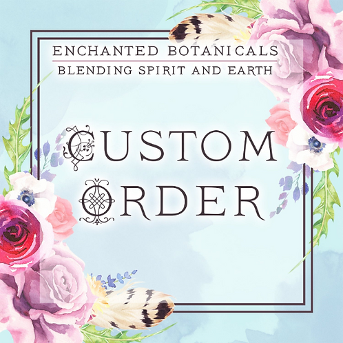 Custom Spray REFILL ONLY, Additional Bottle (no reading included)