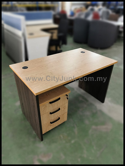 NEW - 1200mm Standard Table with 3D Mobile Pedestal