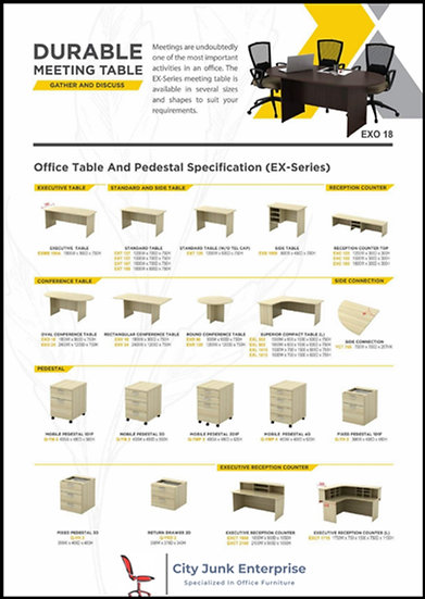 NEW -EX Series Office Furniture System