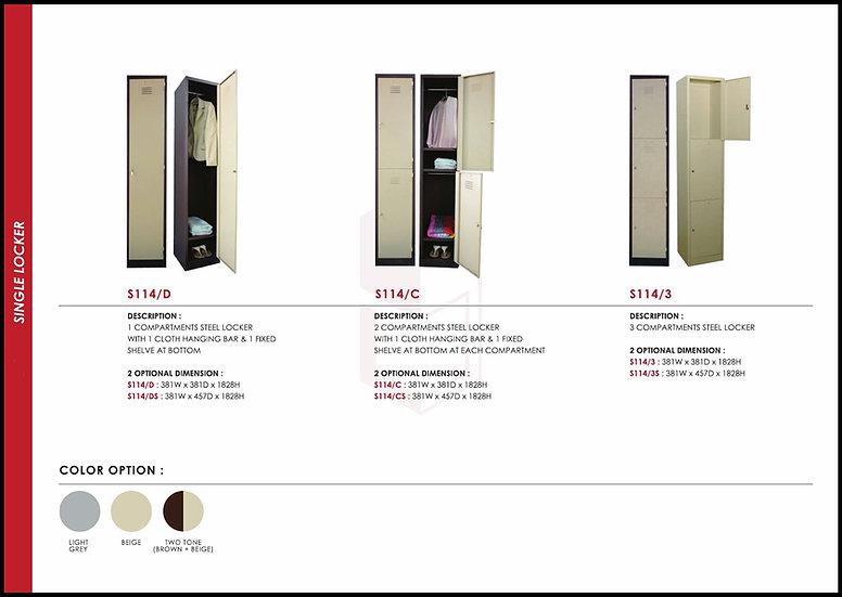NEW - Steel Locker Series