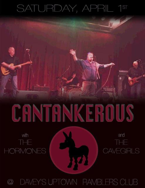 Cantankerous Gig Poster
