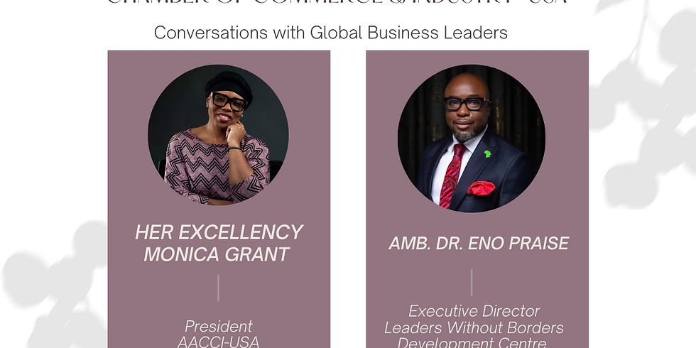 Conversations with Global Business Leaders with Dr. Eno Praise