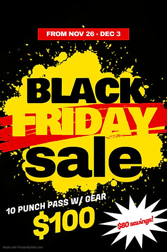 Black Friday Sale 10 punch pass - Made w