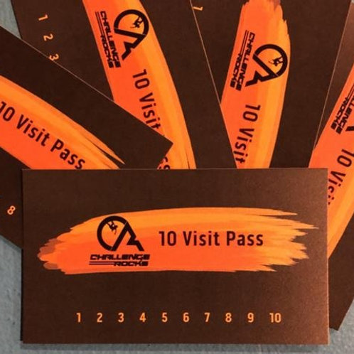 10 Pass Punch Cards w/o Gear