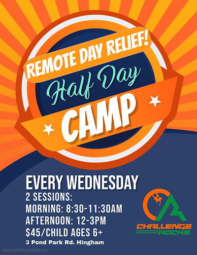 Remote Day Relief Flyer - Made with Post