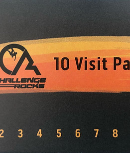 10 Pass Punch Cards Gear Included