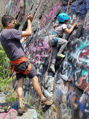 Outdoor Guided Climb