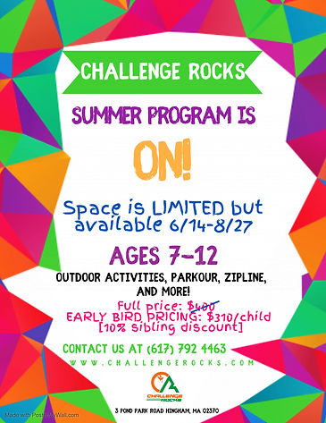 Summer Program 2021 - Made with PosterMy