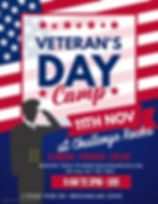 veterans day CAMP - Made with PosterMyWa