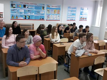 """""""Сегодняшние школьники, а завтрашние наши студенты..."""""""