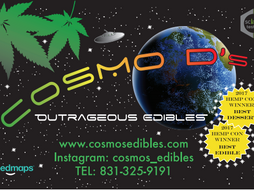 Cosmo D's is on Weedmaps!