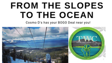 From the Ocean to the Slopes, Cosmo D's enhances your experience
