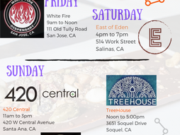 Cosmo D Events this Weekend!