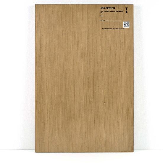 500 Cabinet Engineered White Oak Toned