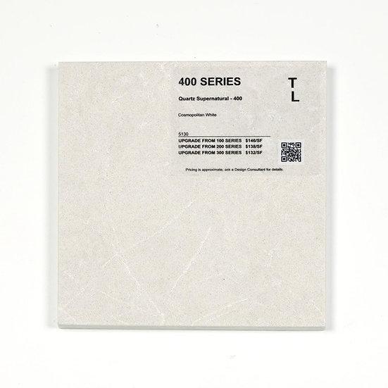 400 Quartz Cosmopolitan White
