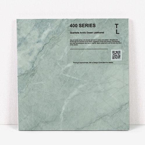 400 Quartzite Arctic Ocean Leathered