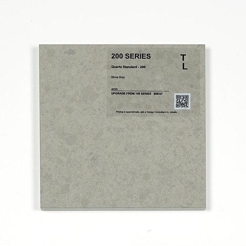 200 Quartz Stone Grey Polished