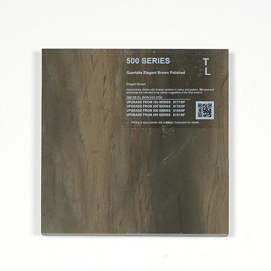 500 Quartzite Elegant Brown Polished