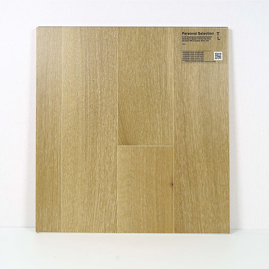 """PS Engineered 6 1/2""""  white oak wire brushed Orion"""