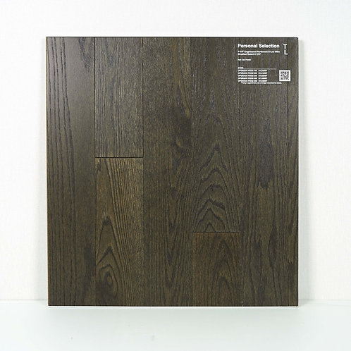 """PS Engineered 4 1/4""""  red oak wire brushed Pewter"""