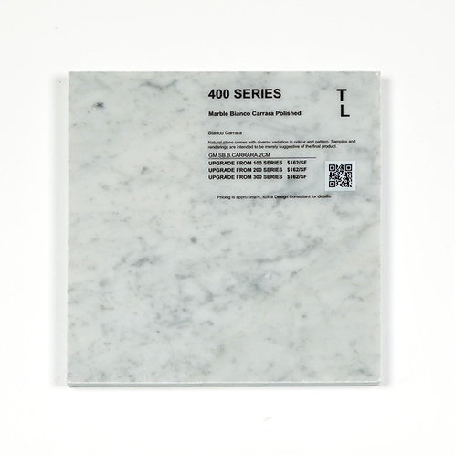 400 Marble Bianco Carrara Polish