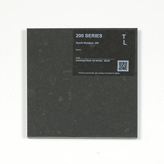 200 Quartz Raven Polished