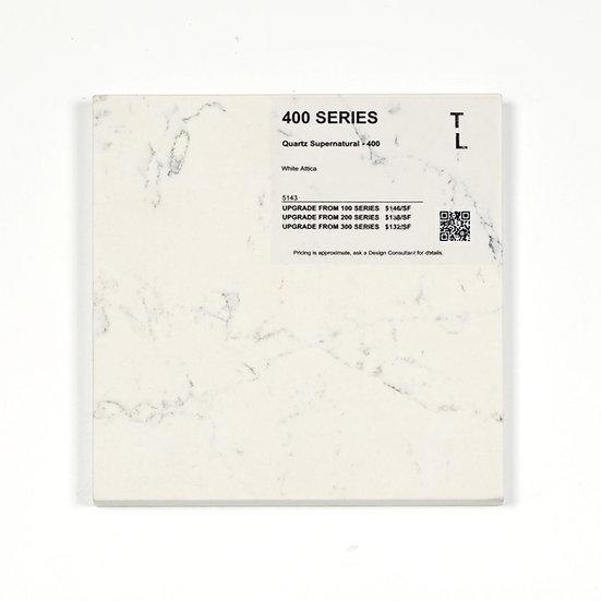 400 Quartz White Attica