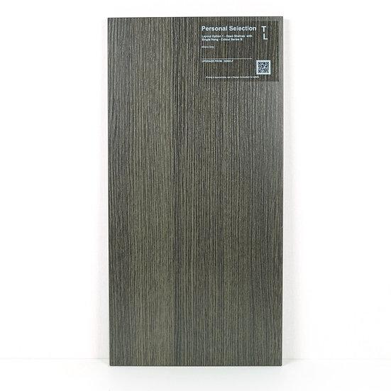 Closet Cabinetry Milano Grey