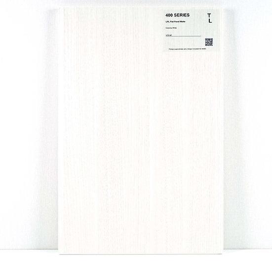 400 Cabinet LPL Cremma White