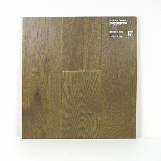 """PS Engineered 7 3/4""""  white oak wire brushed Zeus"""