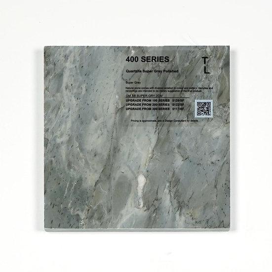 400 Quartzite Super Grey Polished
