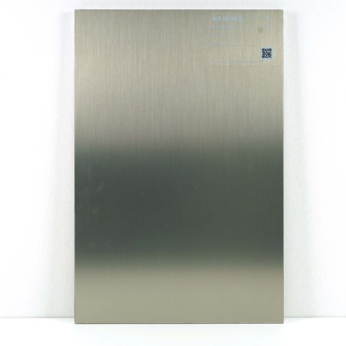 400 Accent Cabinet Polyluxe Brushed Metallic