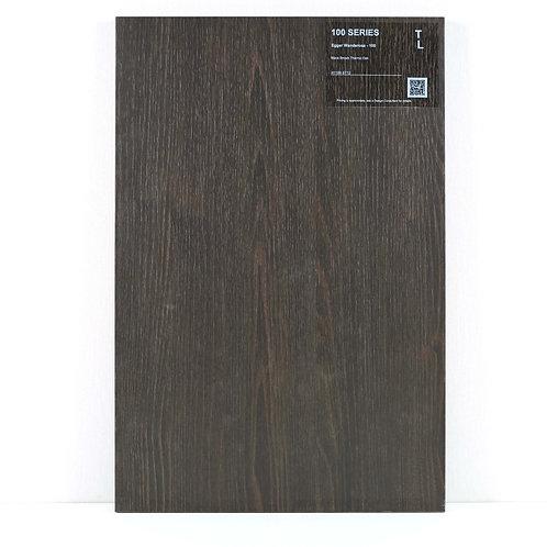 100 Cabinet Black Brown Termo Oak