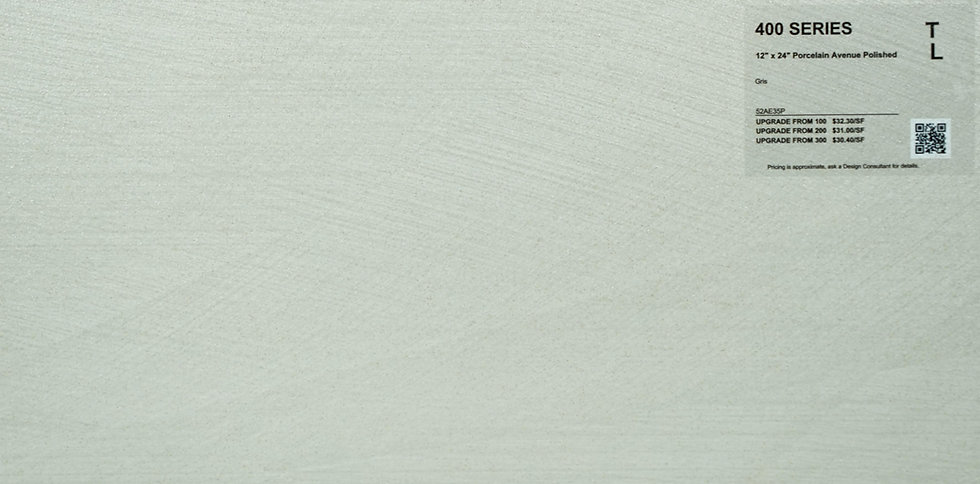 """400 Porcelain avenue gris polished 12""""x 24"""""""