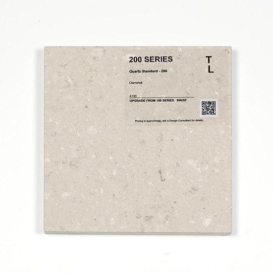 200 Quartz Clamshell Polished